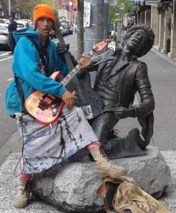 Homeless Hendrix – Demo on YouTube