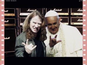 The Pope goes Metal – Holy Wars (Megadeth)